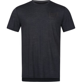 super.natural Active Tee Men jet black melange